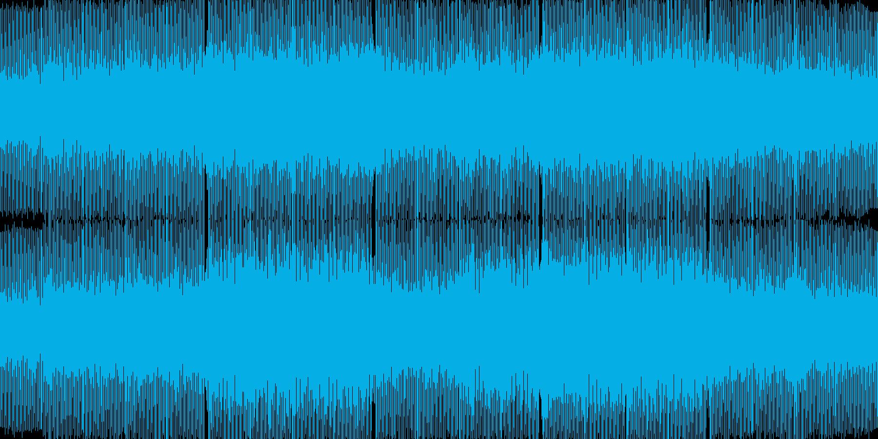 浮遊感のあるサイバー系トランスの再生済みの波形