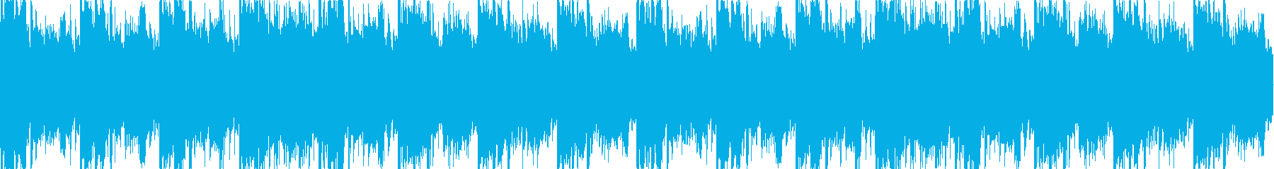 幻想的なループBGMの再生済みの波形