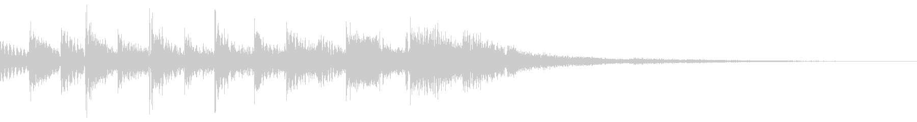 ひらめく(フレクサトーンで演奏)の未再生の波形