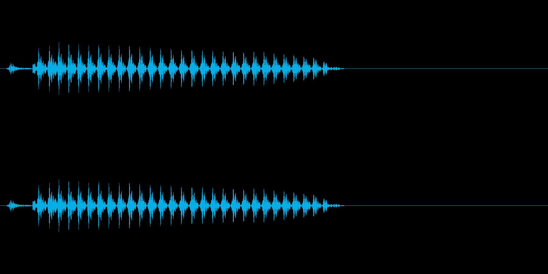 ンー5(五)中国語(広東)20代男の再生済みの波形