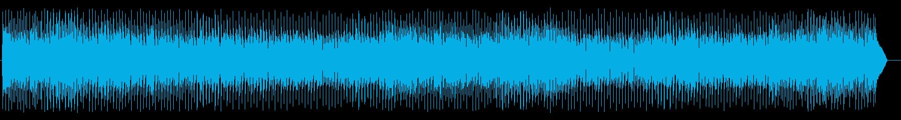 楽しげな和風のシンセ弦楽器サウンドの再生済みの波形