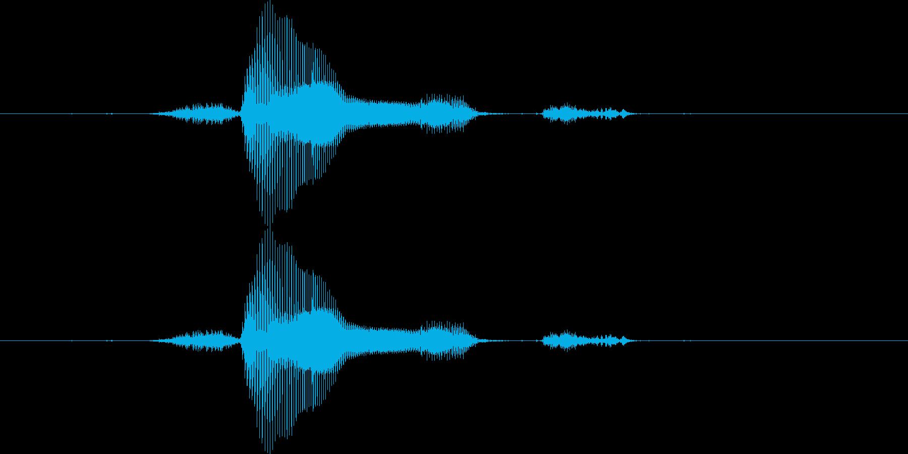 【月】3月の再生済みの波形