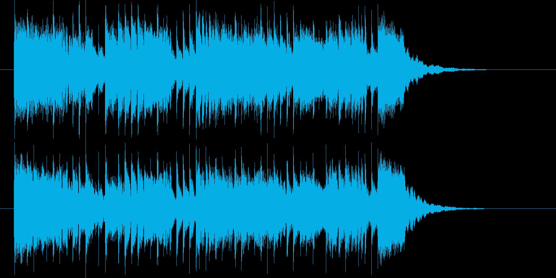 中国風のテクノポップの再生済みの波形