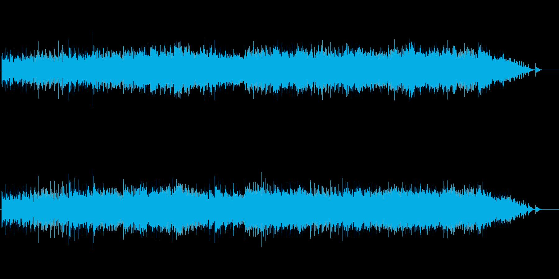 美しいアコースティック・ギターの調べの再生済みの波形
