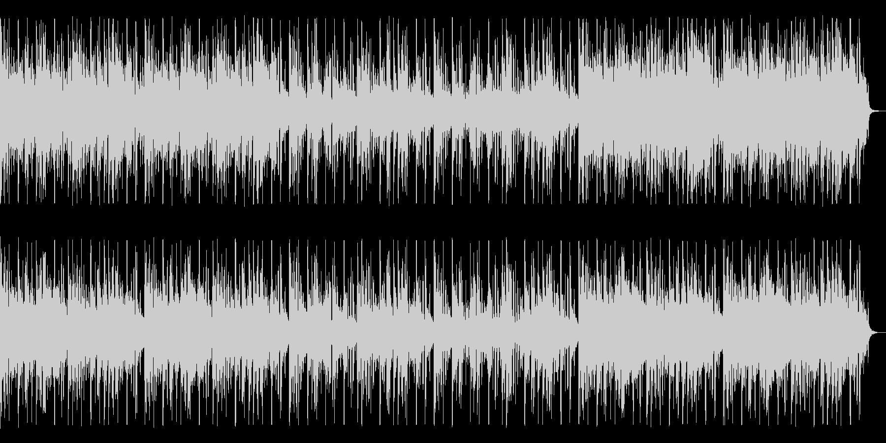 ノスタルジックなギター・インストの未再生の波形