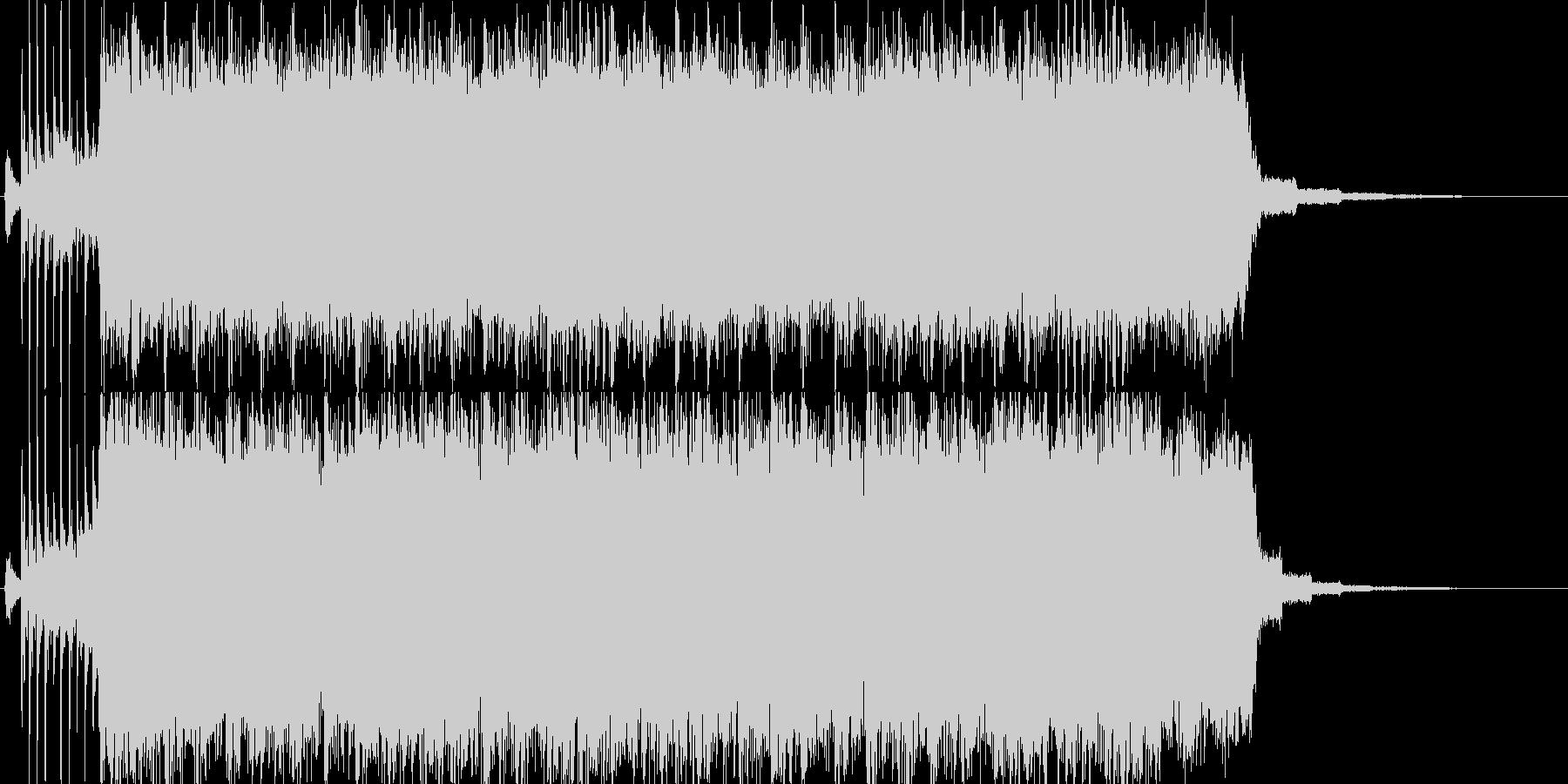 【ジングル】哀愁漂うギターロックの未再生の波形