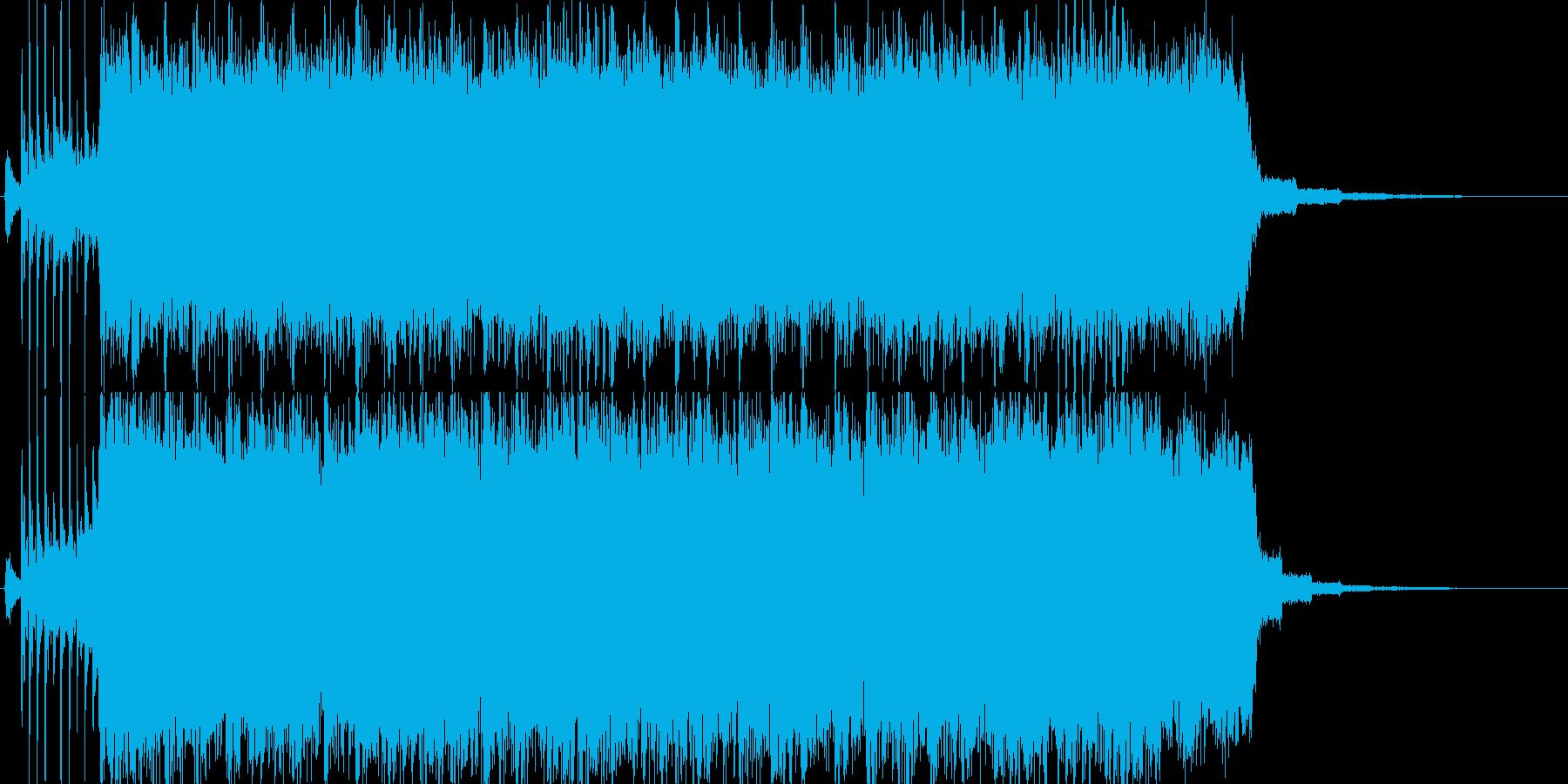 【ジングル】哀愁漂うギターロックの再生済みの波形