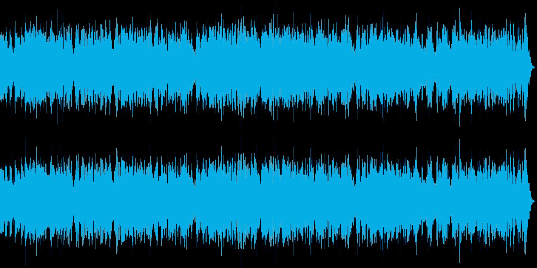 イージーリスニングなチェロ曲の再生済みの波形