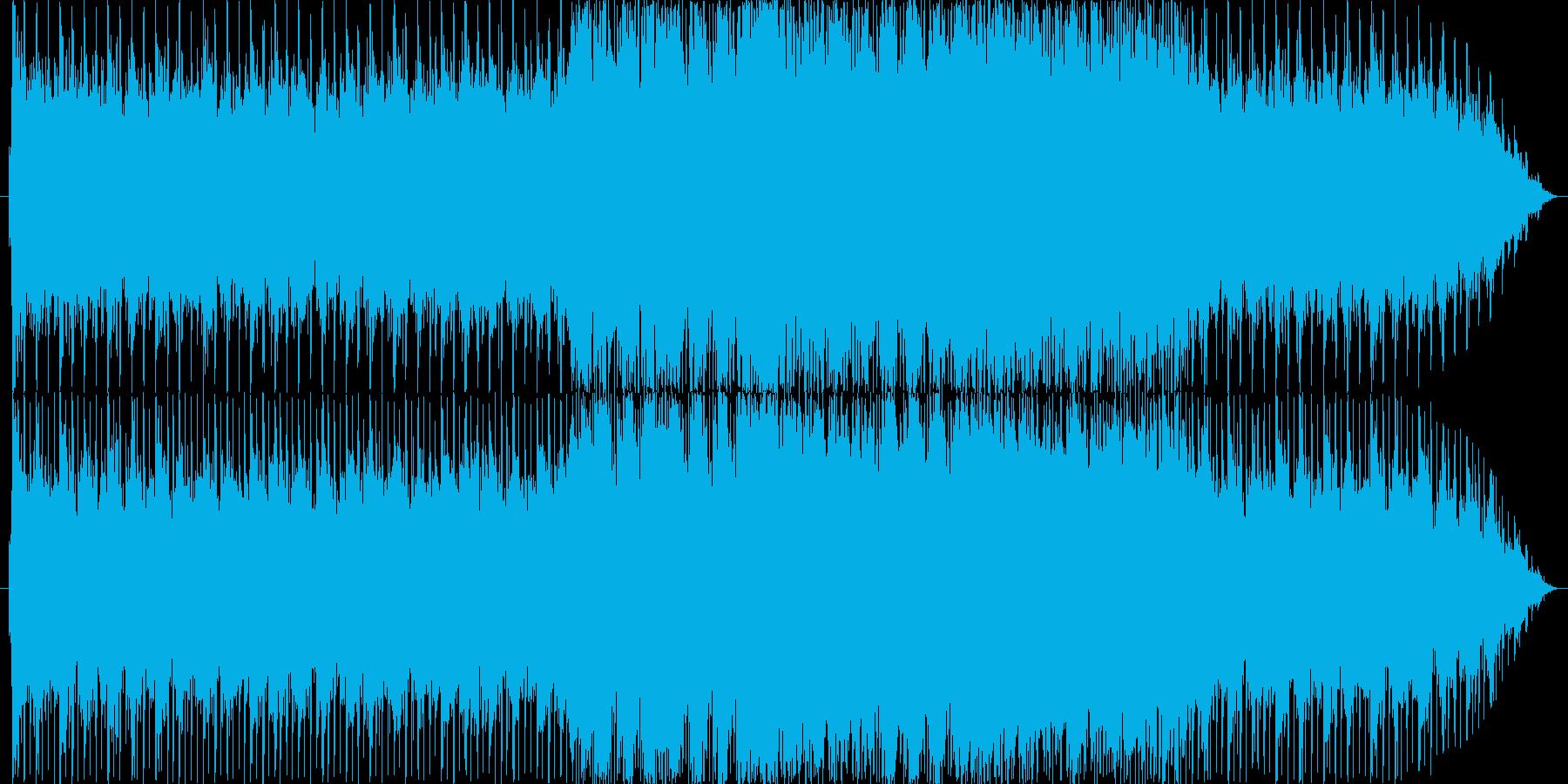 混沌とした世界をイメージしたBGMの再生済みの波形