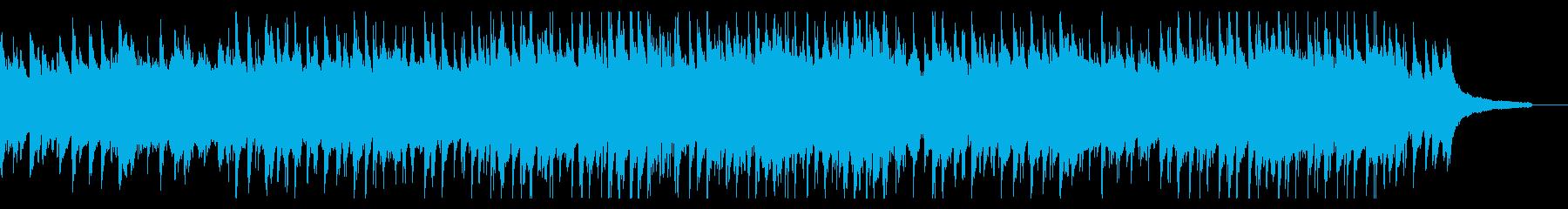 明るくやさしい日常曲の再生済みの波形