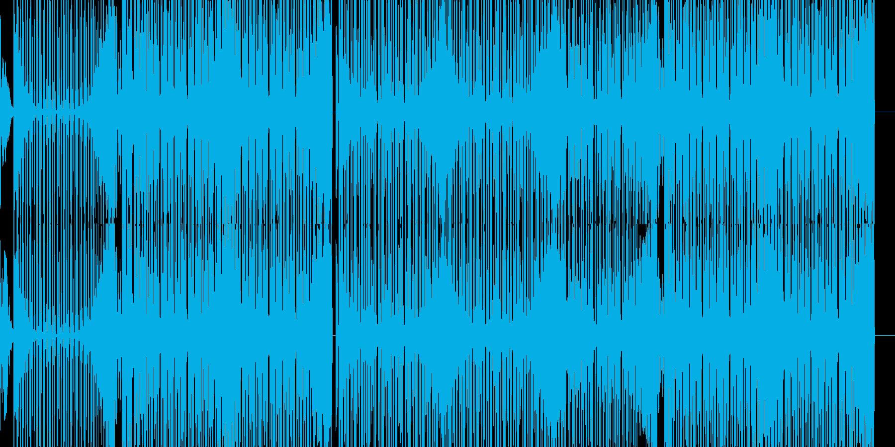 森イメージのダンス系EDMの再生済みの波形