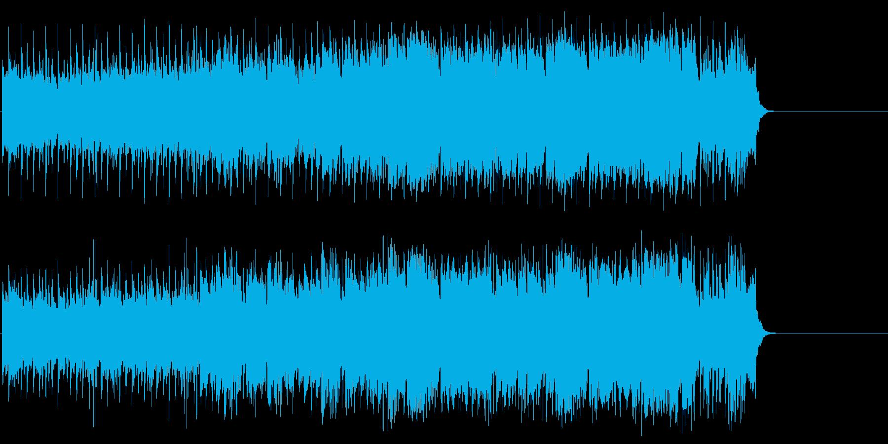 感動的で軽やかなポップ(A~B~サビ…)の再生済みの波形