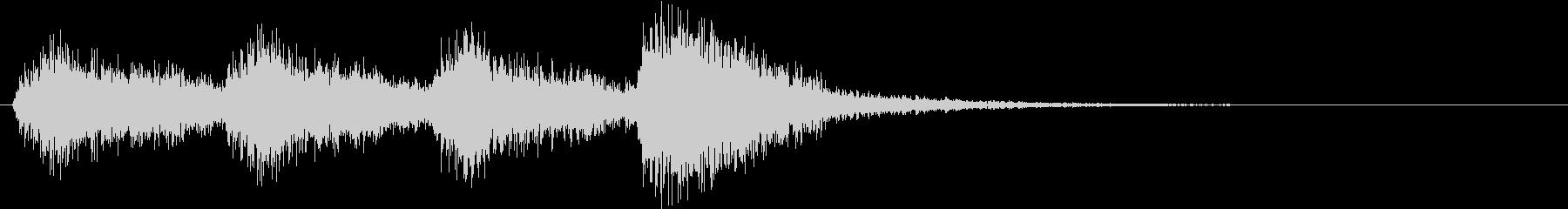 オーケストラでジャジャン ジャジャン5の未再生の波形