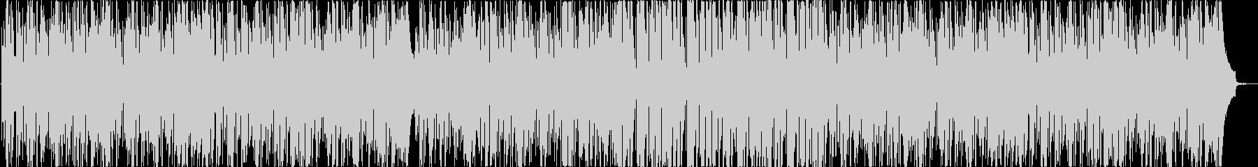 クールな疾走系ピアノテクノの未再生の波形