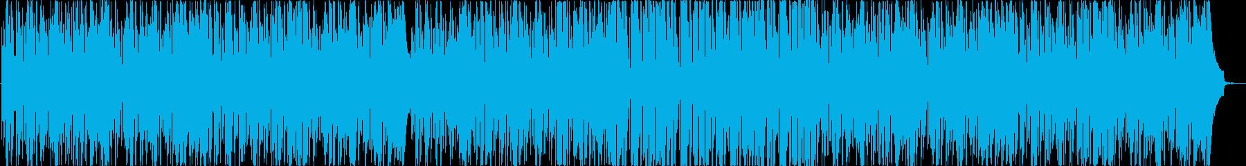 クールな疾走系ピアノテクノの再生済みの波形