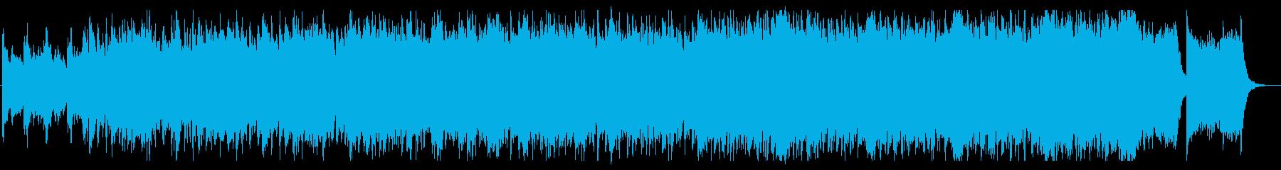 ドラマティックなオーケストラサウンドの再生済みの波形