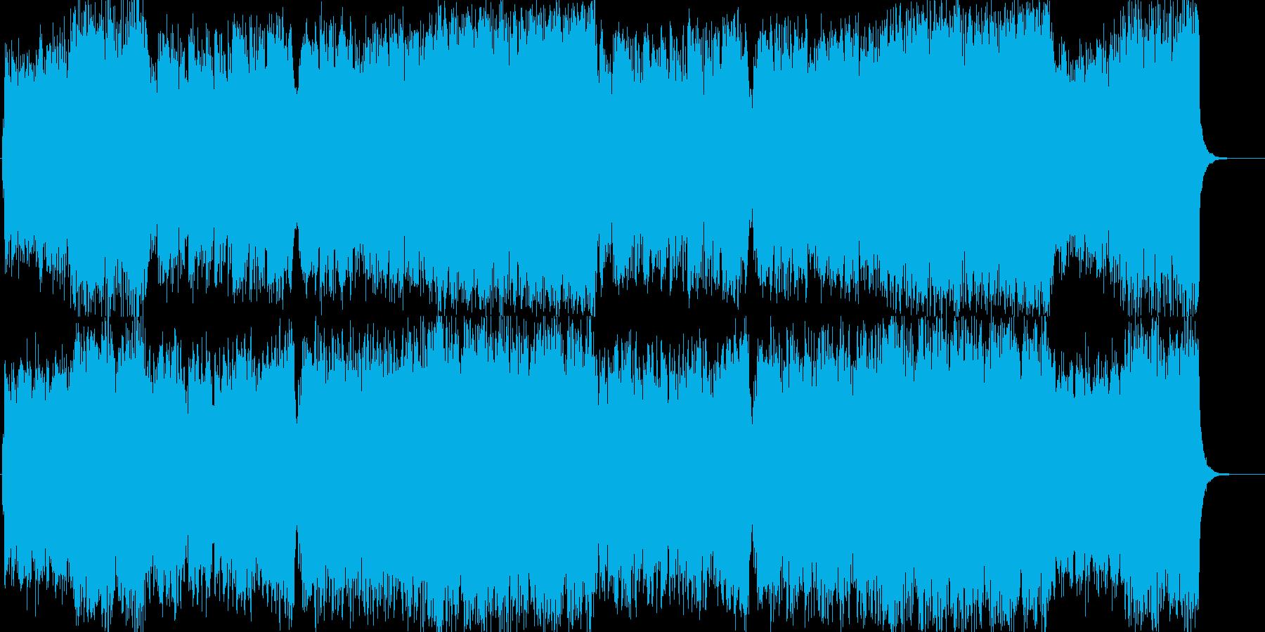 洋楽器で表現した和風曲 ロックVer.の再生済みの波形