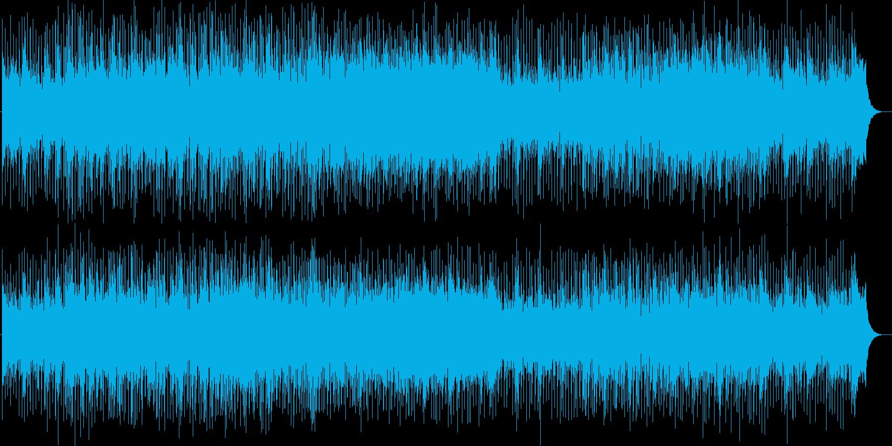 力強く優雅なシンセサイザーポップの再生済みの波形