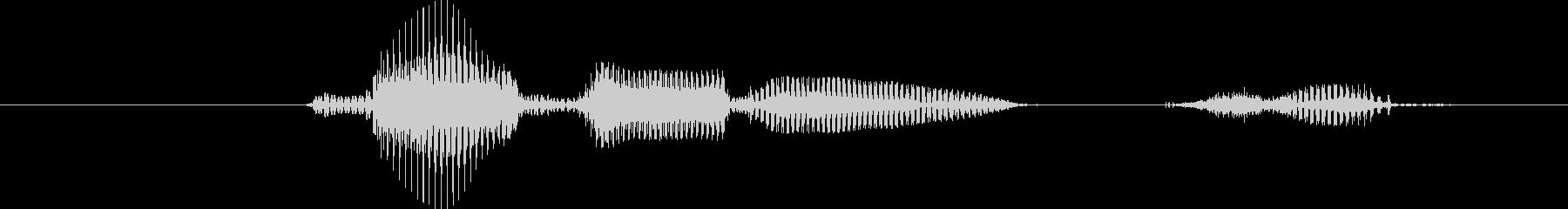 レベル1(いち)の未再生の波形