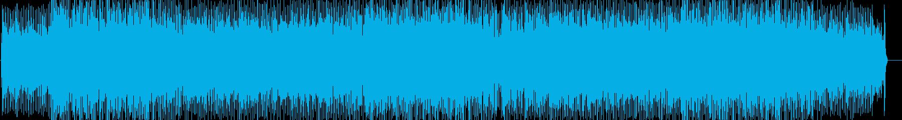 エンディングにぴったりのテクノポップの再生済みの波形