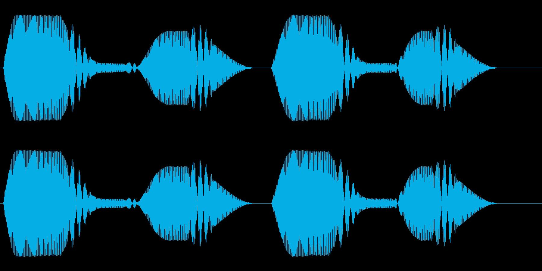 ふわふわ(終わりのない鈍い憂鬱の効果音)の再生済みの波形