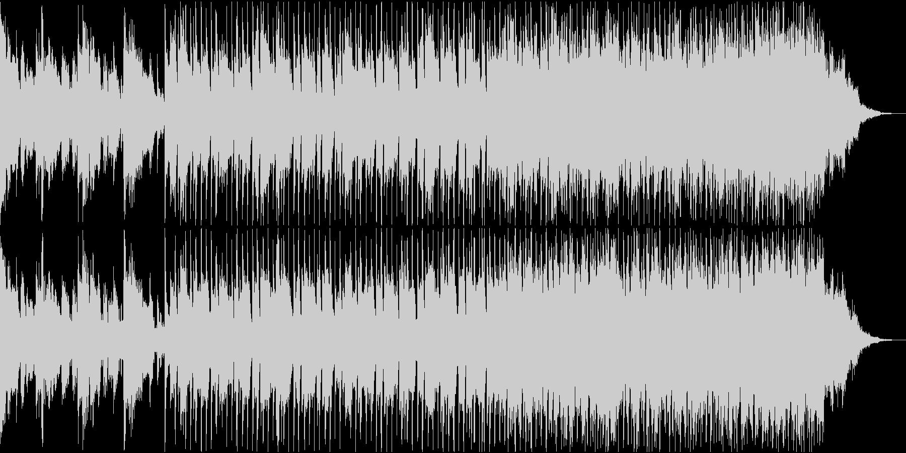 クールで深海をイメージして作ったBGMの未再生の波形
