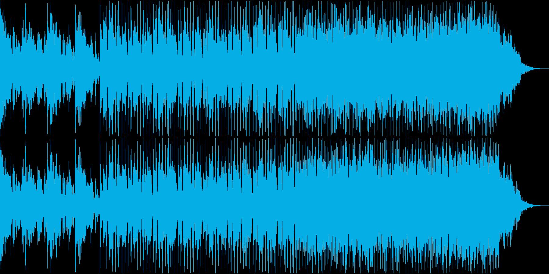 クールで深海をイメージして作ったBGMの再生済みの波形