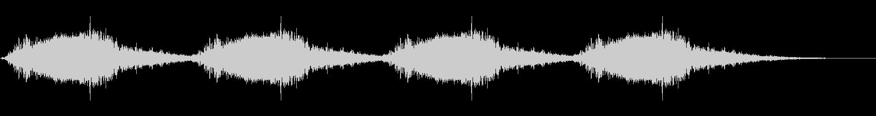 サイレン・警報2の未再生の波形
