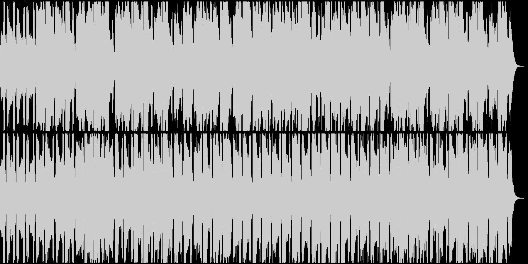 メルヘンな三拍子曲の未再生の波形