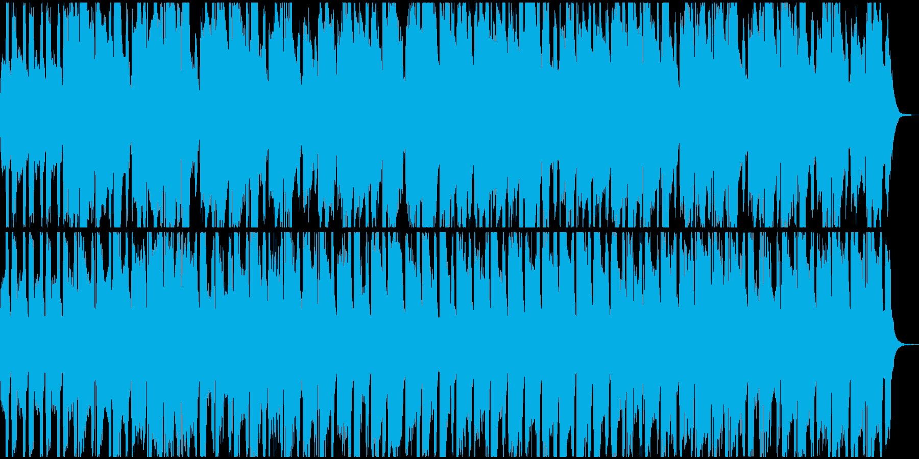 メルヘンな三拍子曲の再生済みの波形
