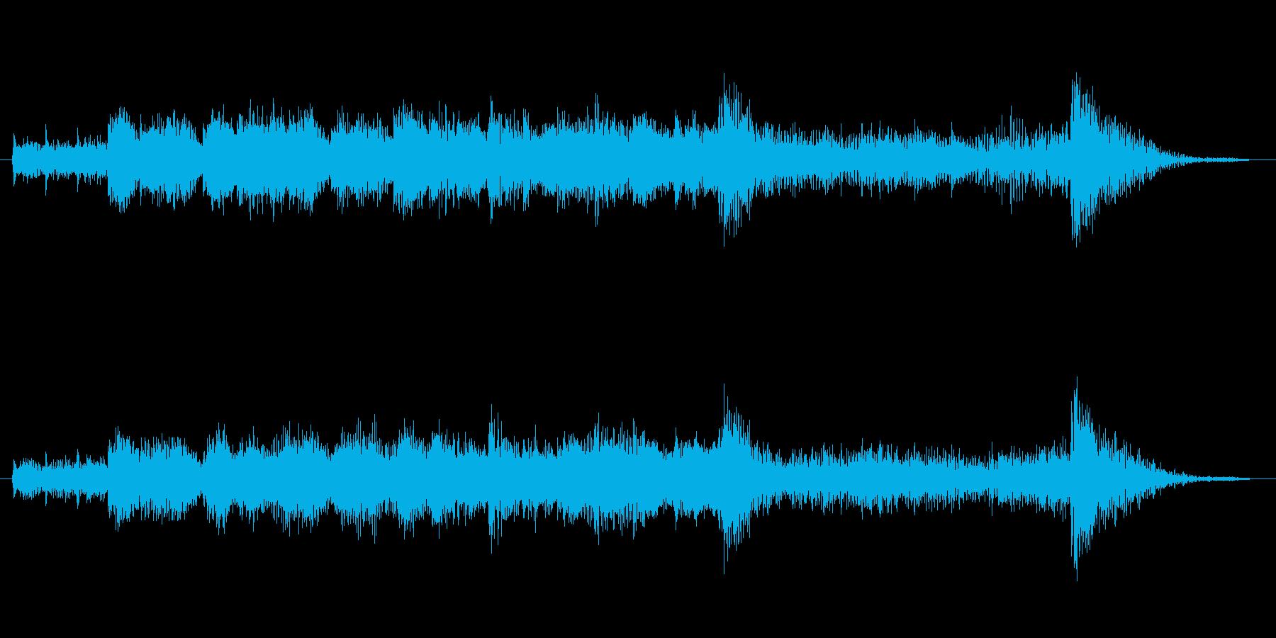 レベルアップオーケストラゲームの再生済みの波形