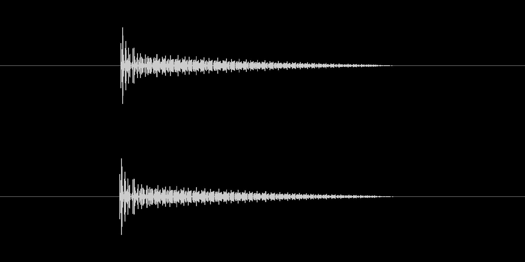 ビヨヨン(バネ系の足場)の未再生の波形