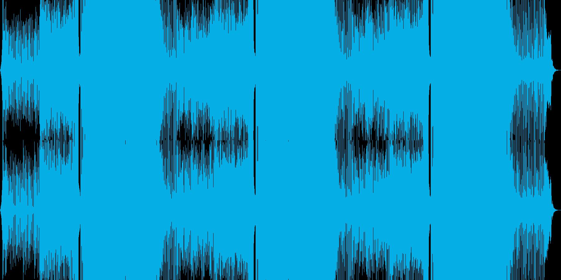 EDM、クラブミュージックの再生済みの波形