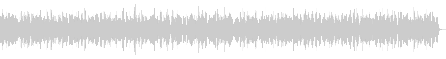 リズミカルなピアノ曲の未再生の波形