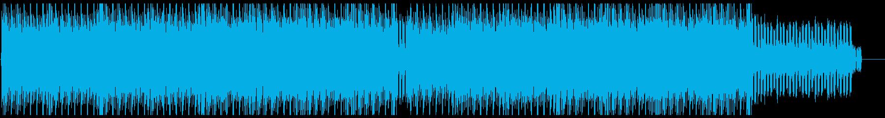 疾走感とクールで弾けるテクノポップの再生済みの波形
