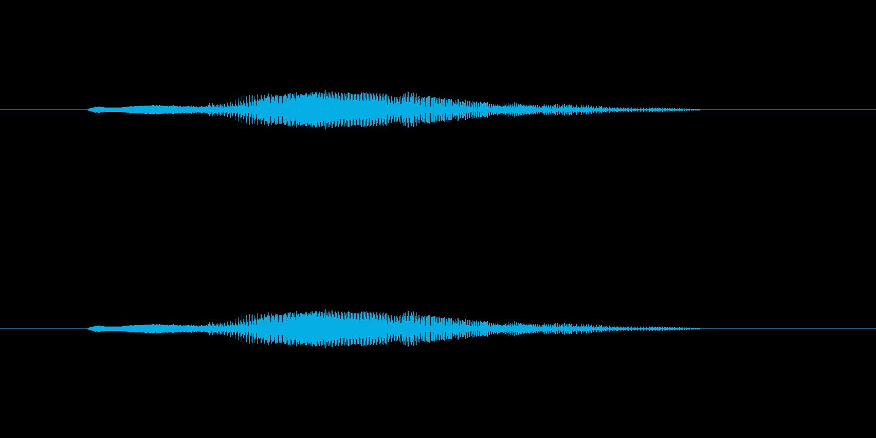 ニャー_猫声-15の再生済みの波形