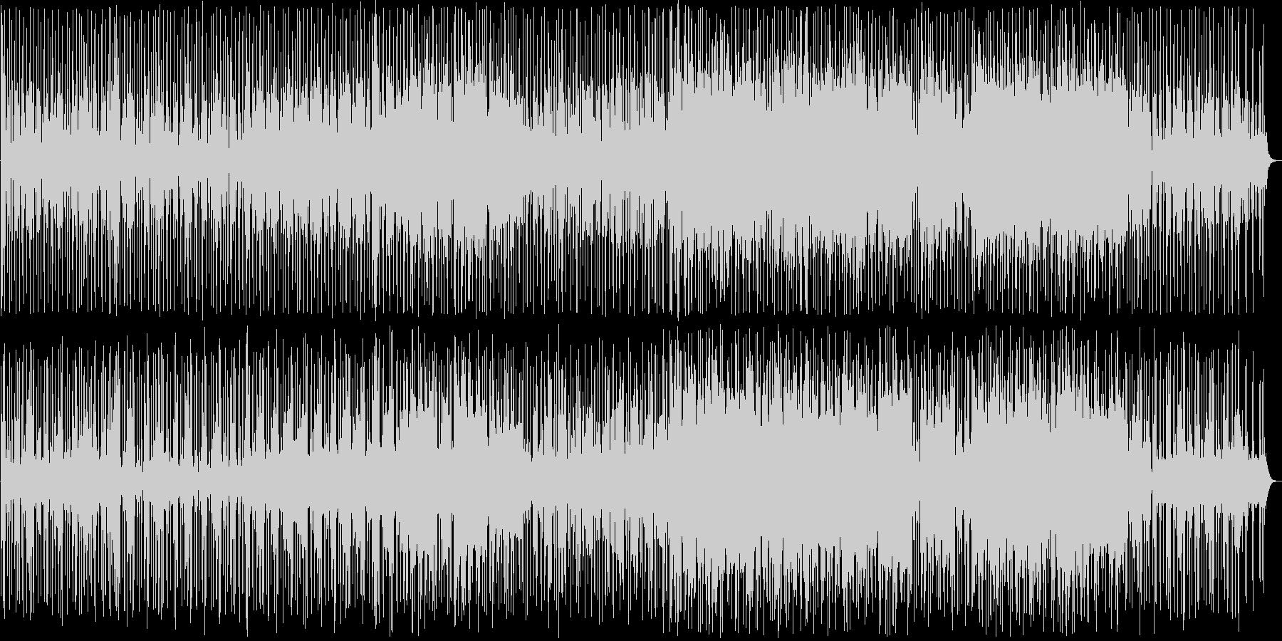 キラキラした印象の明るいバラード3の未再生の波形