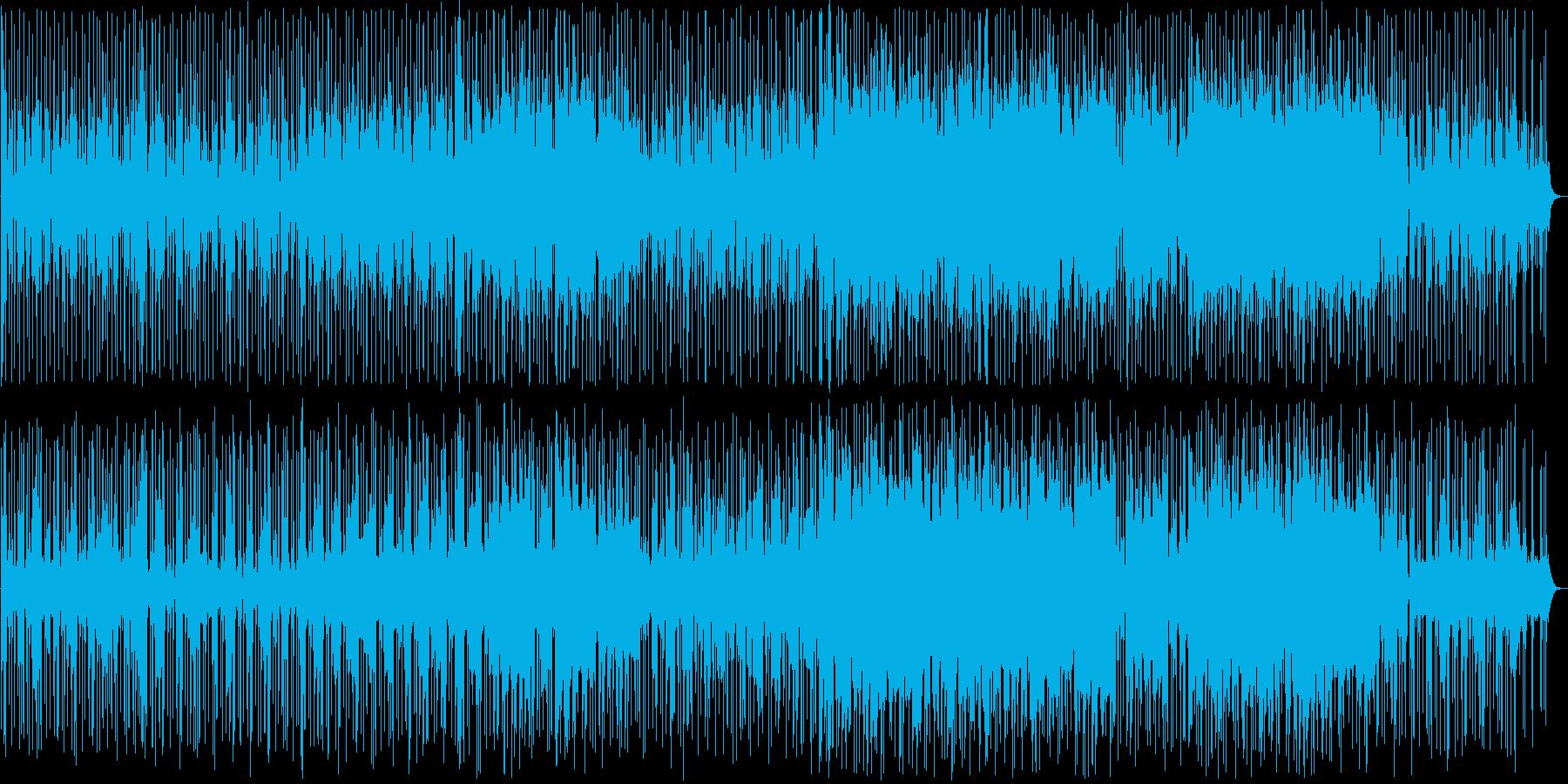 キラキラした印象の明るいバラード3の再生済みの波形