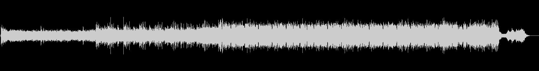 ブルガリアン・ヴォイスで神秘を表現した曲の未再生の波形