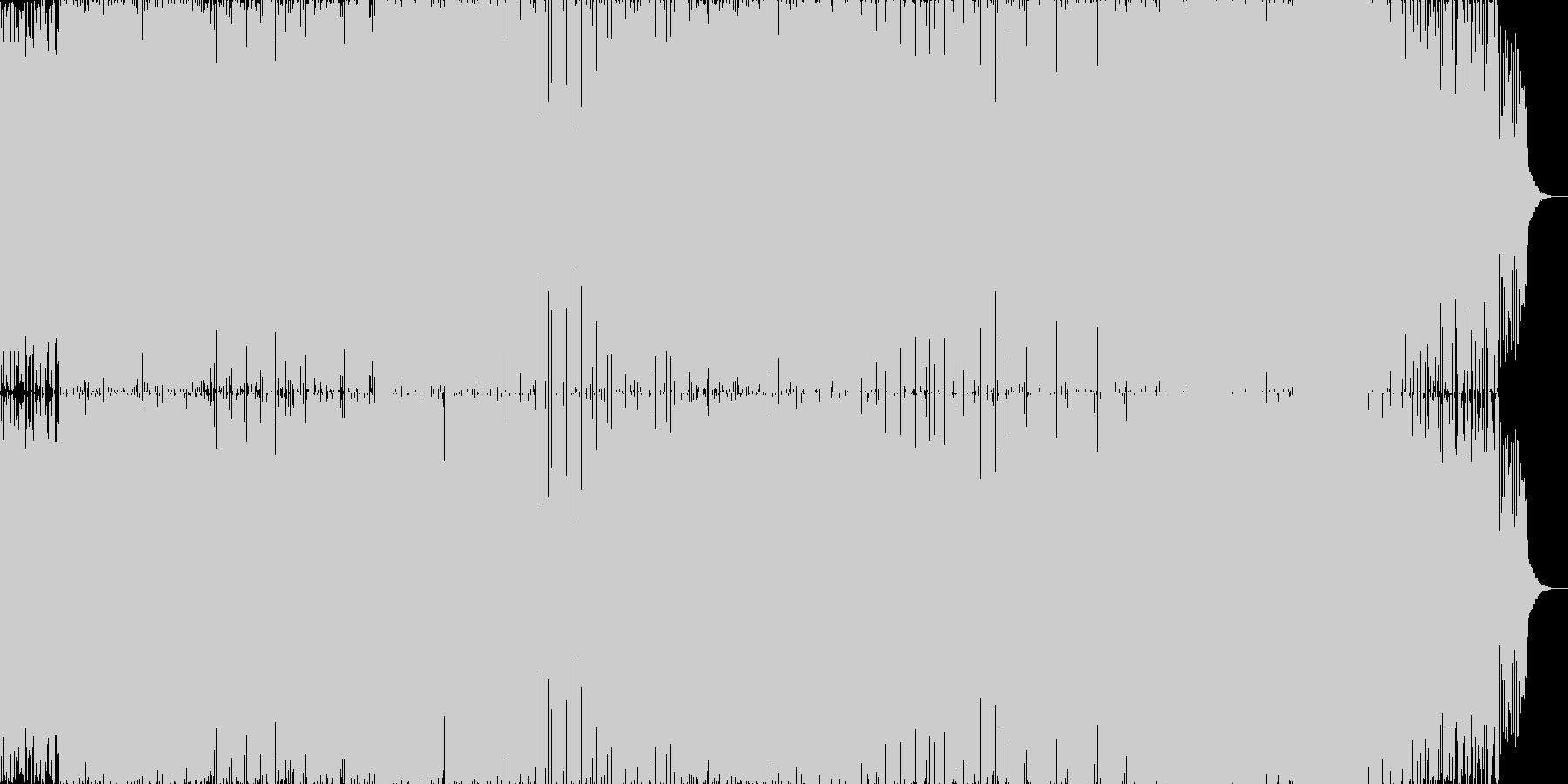 ハイスピードドラム&ベースの未再生の波形