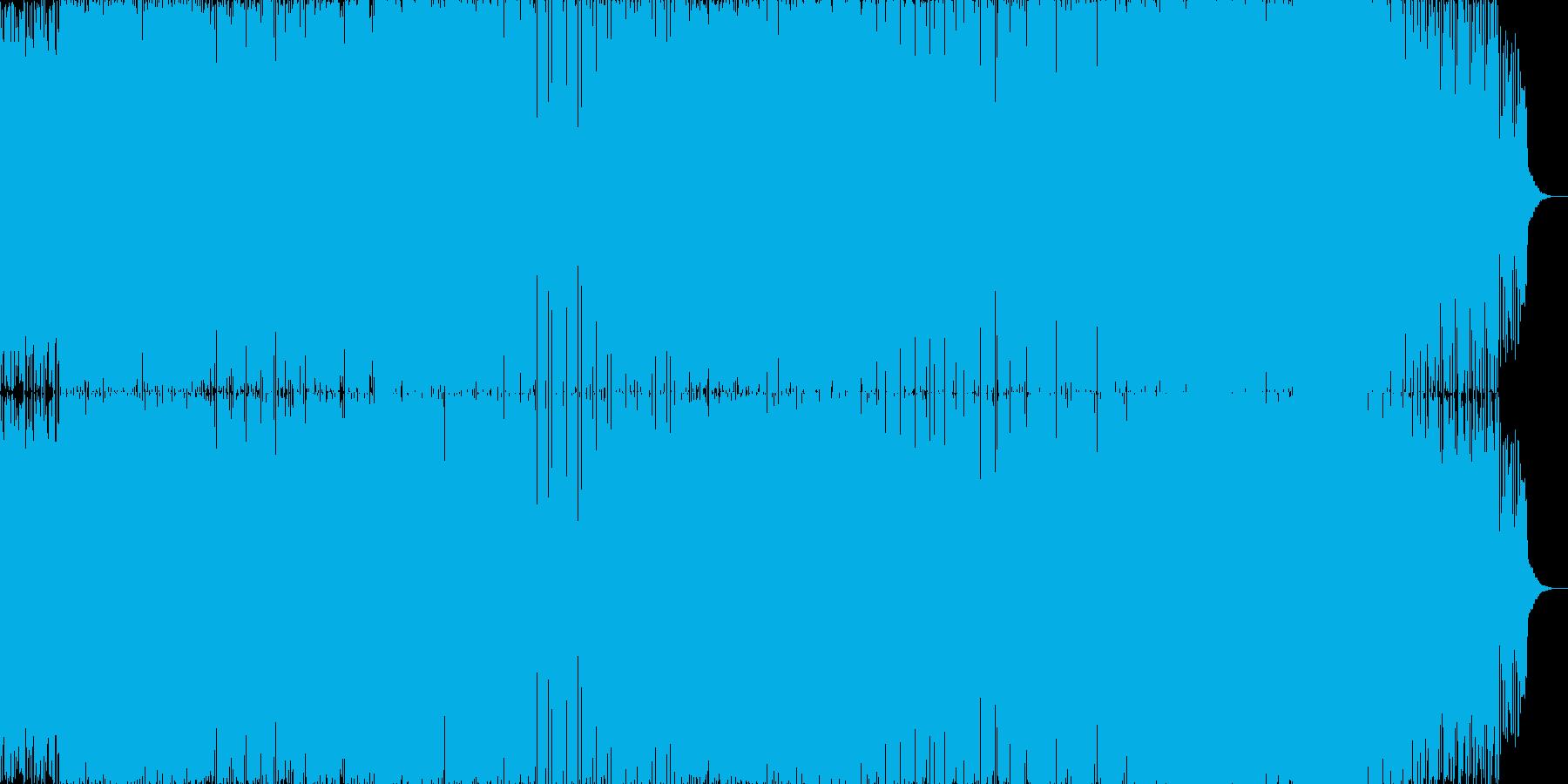 ハイスピードドラム&ベースの再生済みの波形