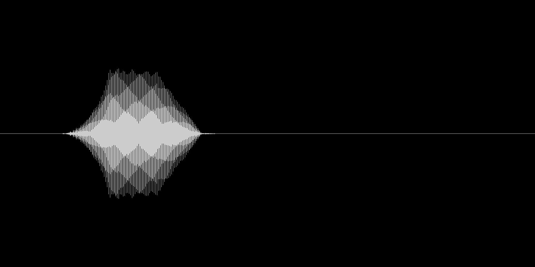 ファミコン風効果音カーソル系です 15の未再生の波形
