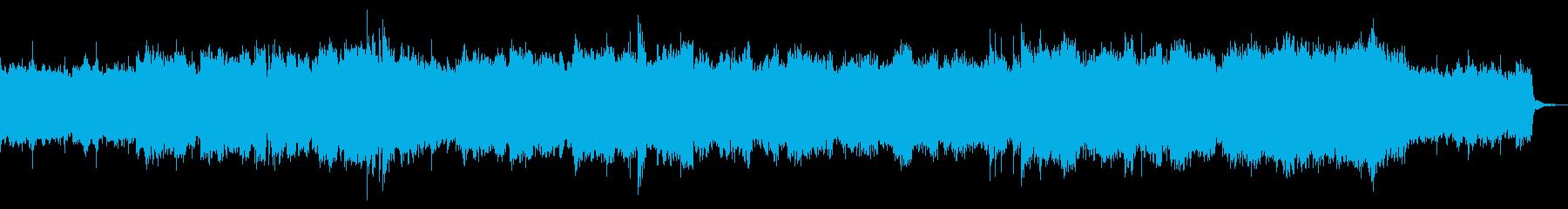 どことなく寂しげなBGMの再生済みの波形