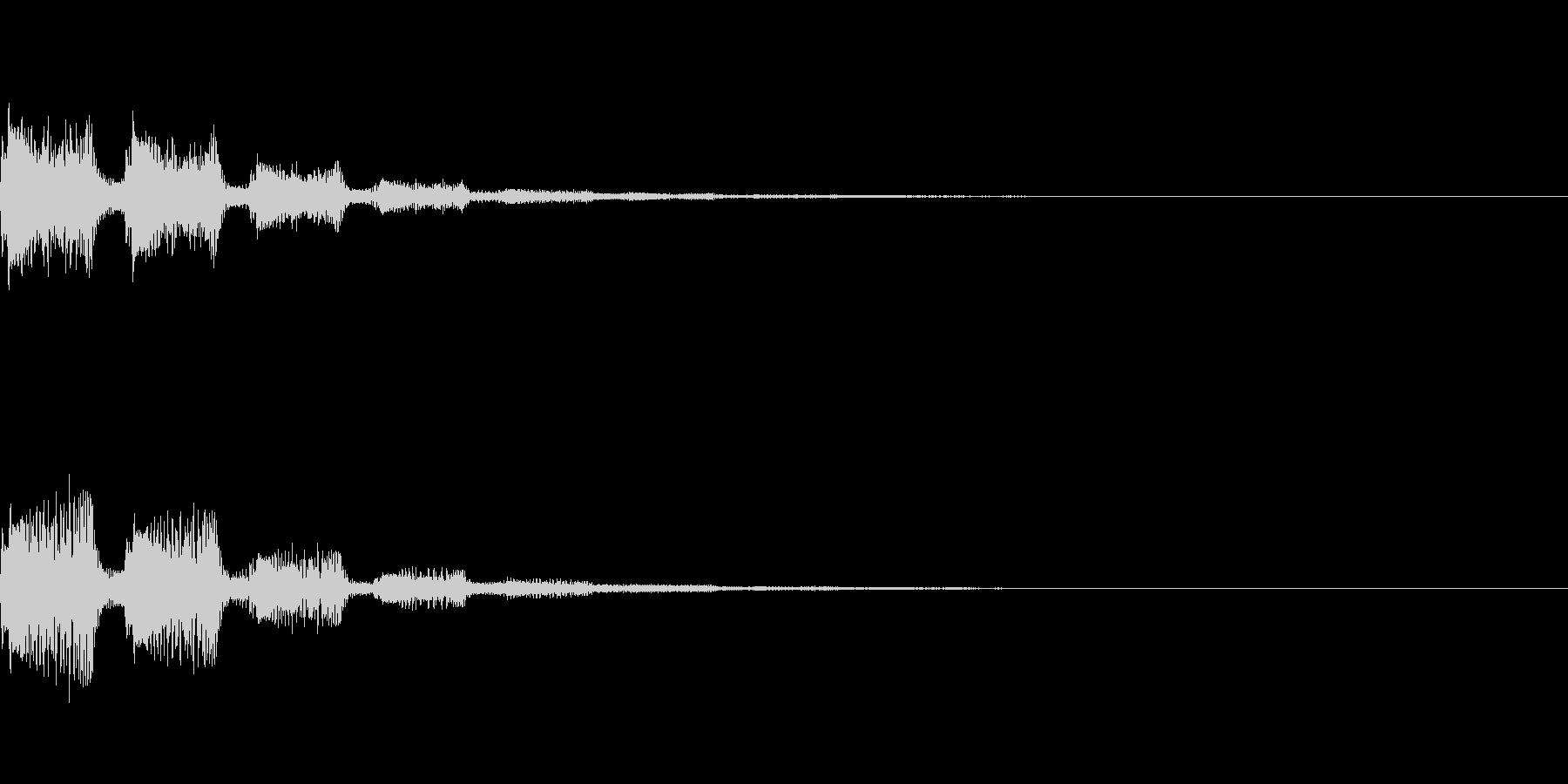 サウンドロゴ41_シンセの未再生の波形