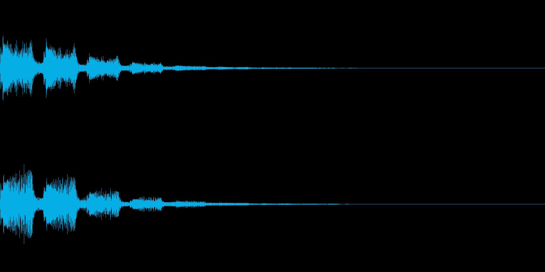 サウンドロゴ41_シンセの再生済みの波形