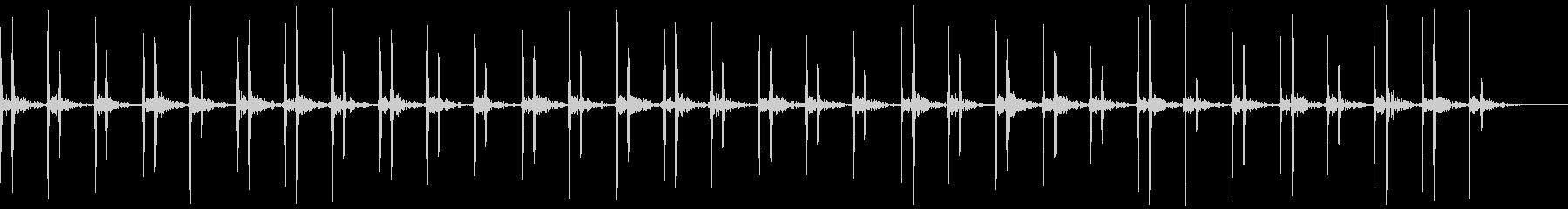 ドックン(早い心臓音)の未再生の波形