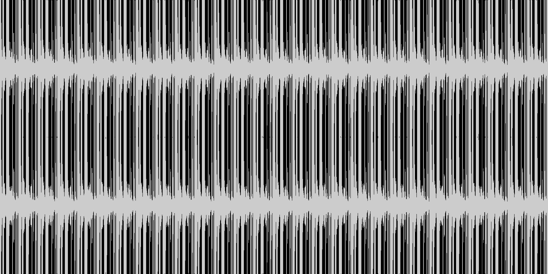 重みの未再生の波形