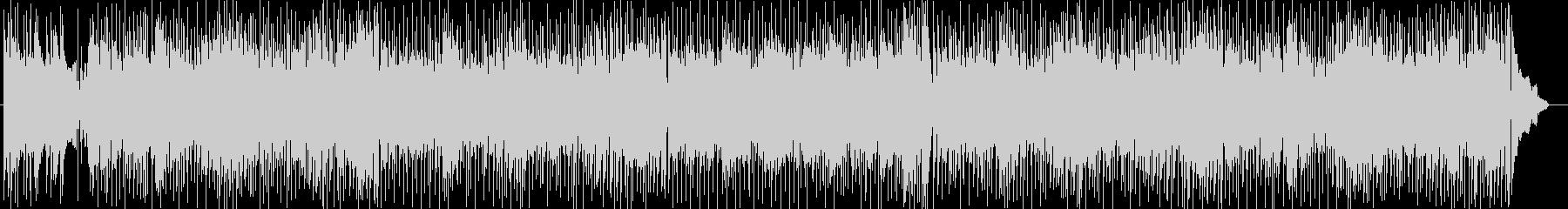 休日のドライブシンセサイザー系曲の未再生の波形