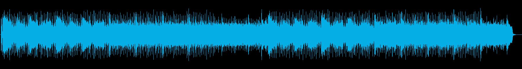 魅惑的で独特の響きのあるミュージックの再生済みの波形