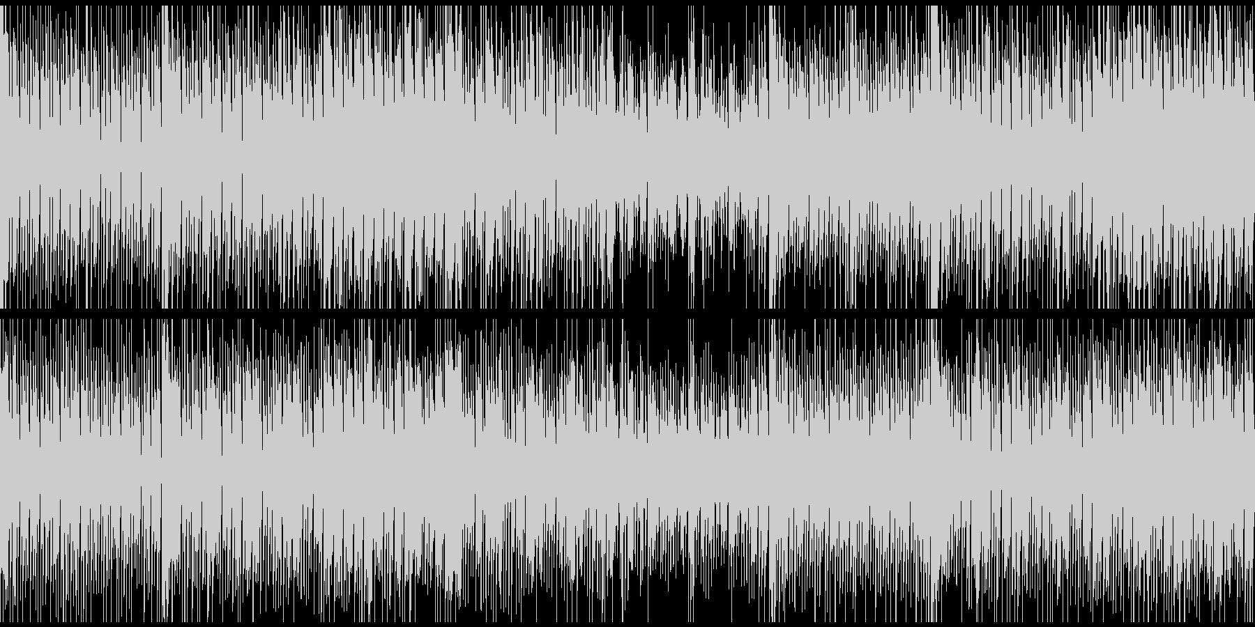 オープニング、トークの背景用(ループ)の未再生の波形